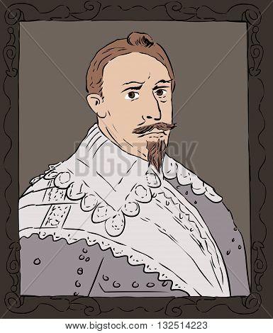 King Gustav Ii Adolf Of Sweden