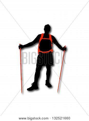 Hiker Man 1.eps