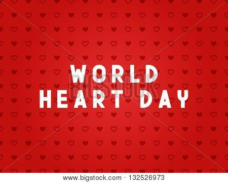 Medicine concept World heart day. Creative design elements for websites, mobile apps and printed materials. Medicine banner design