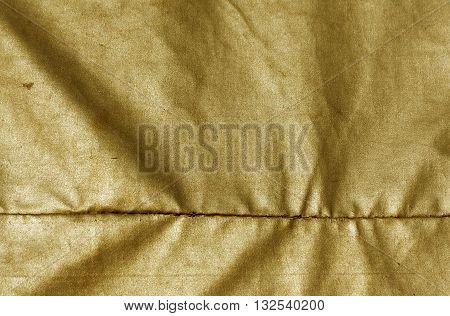 Abstract Orange Waterproof Textile Texture.