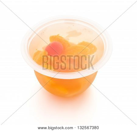 fruity jerry on white with clipping path
