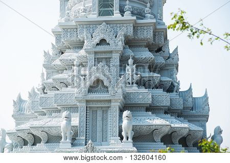 Old Town Udong. The Temples On The Mountain. Cambodia.