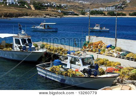 Fishing Port On Mykonos, Cyclades