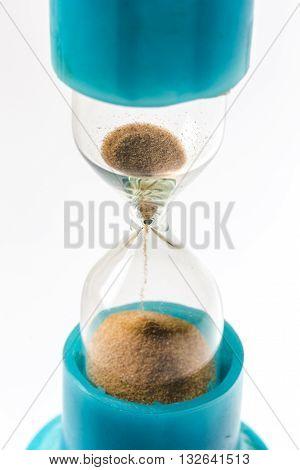 Sandglass Background.