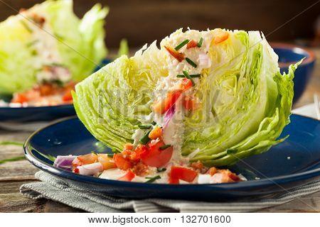 Healthy Green Wedge Salad