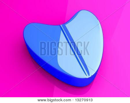 Blue Love Pill.