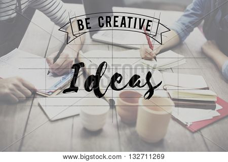 Ideas Creative Design Concept Think Concept