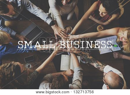 Small Business Enterprise Startup Organization Concept