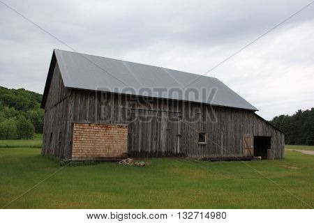 A barn in Port Oneida Rural Historic District, Sleeping Bear Dunes National Lakeshore, Michigan