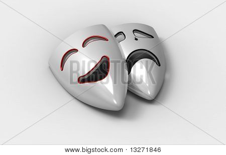 Two Masks