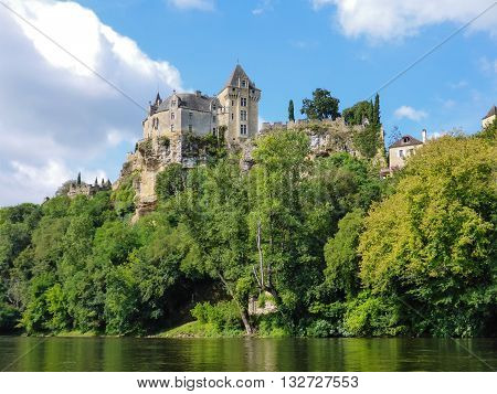 Chateau de Montfort in France's Dordogne area