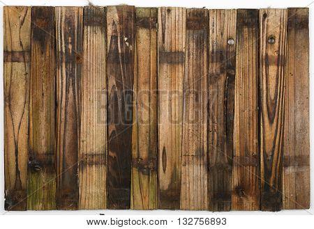 Wooden Half Barrel Garden Planter Planks