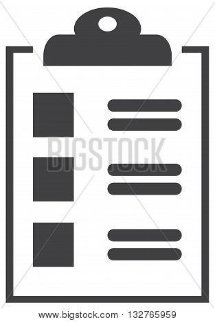 clipboard icon plan wealth survival note pad