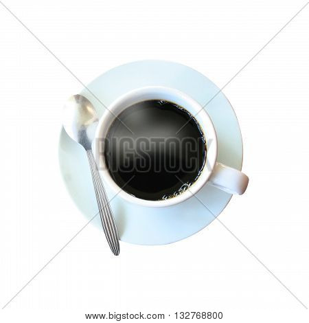 coffee isolated on a white color background