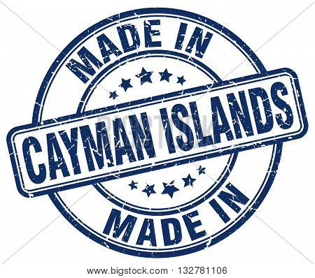 made in Cayman Islands blue round vintage stamp.Cayman Islands stamp.Cayman Islands seal.Cayman Islands tag.Cayman Islands.Cayman Islands sign.Cayman.Islands.Cayman Islands label.stamp.made.in.made in.