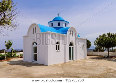 Traditional Greek Church, Kos island, Dodecanese, Greece.