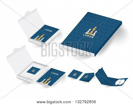 collection of corporate branding and package (Vector eps10)