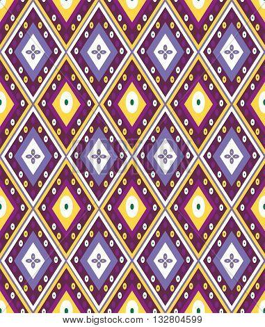 Ethnic asian seamless pattern. Asian traditional original seamless pattern