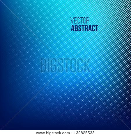 Abstract Halftone Background, dotted vector illustration. Business presentation concept