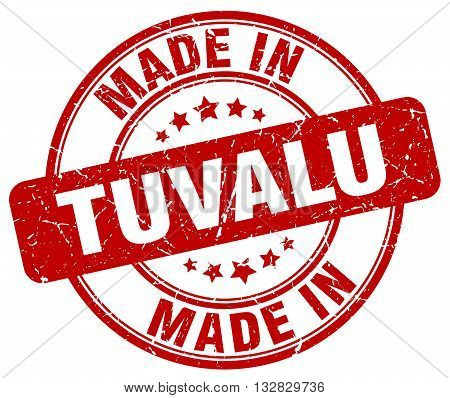 made in Tuvalu red round vintage stamp.Tuvalu stamp.Tuvalu seal.Tuvalu tag.Tuvalu.Tuvalu sign.Tuvalu.Tuvalu label.stamp.made.in.made in.