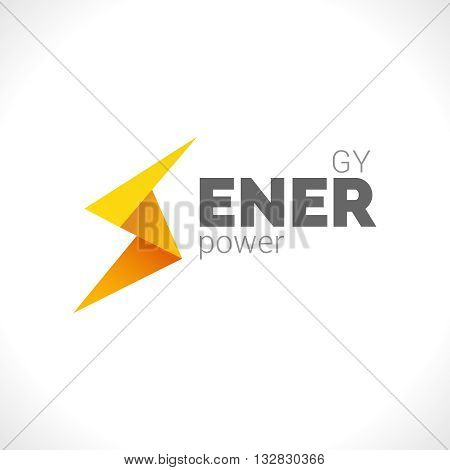 Lighting yellow bolt Flash Logo design vector element. Fast Quick Power Rapid icon design concept symbol. Thunderbolt Logo icon. Thunderbolt logo. Power logo. Thunderbolt image.
