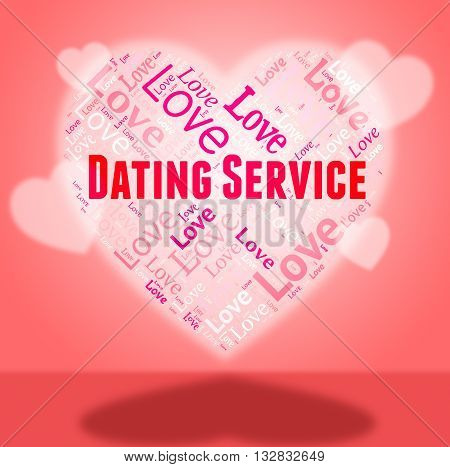 Dating Service Shows Web Site And Date