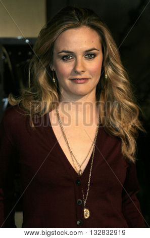 Alicia Silverstone at the Los Angeles premiere of 'Ray' held at the Cinerama Dome in Hollywood, USA on October 19, 2004.