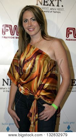 Abi Ferren at the 2nd Semi Annual Fashion Wire Daily's event NEXT at Mondrian Hotel's SkyBar in West Hollywood, USA on October 25, 2004.