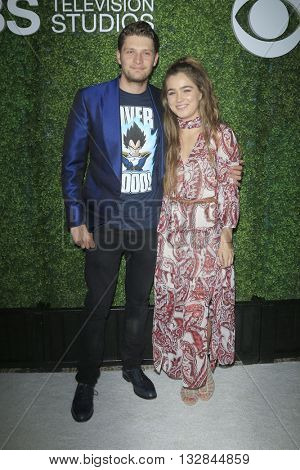 LOS ANGELES - JUN 2:  Brett Dier, Haley Lu Richardson at the 4th Annual CBS Television Studios Summer Soiree at the Palihouse on June 2, 2016 in West Hollywood, CA