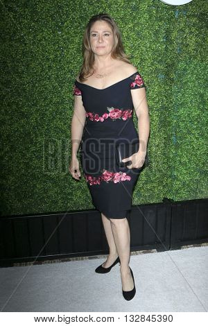 LOS ANGELES - JUN 2:  Megan Follows at the 4th Annual CBS Television Studios Summer Soiree at the Palihouse on June 2, 2016 in West Hollywood, CA