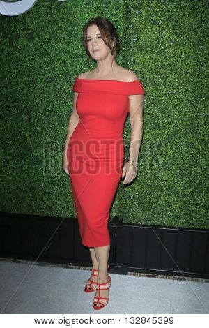 LOS ANGELES - JUN 2:  Marcia Gay Harden at the 4th Annual CBS Television Studios Summer Soiree at the Palihouse on June 2, 2016 in West Hollywood, CA