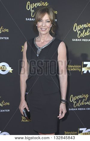 LOS ANGELES - JUN 2:  Allison Janney at the Television Academy 70th Anniversary Gala at the Saban Theater on June 2, 2016 in North Hollywood, CA
