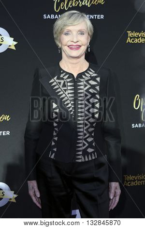 LOS ANGELES - JUN 2:  Florence Henderson at the Television Academy 70th Anniversary Gala at the Saban Theater on June 2, 2016 in North Hollywood, CA