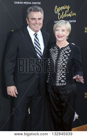 LOS ANGELES - JUN 2:  Christopher Knight, Florence Henderson at the Television Academy 70th Anniversary Gala at the Saban Theater on June 2, 2016 in North Hollywood, CA
