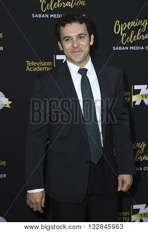 LOS ANGELES - JUN 2:  Fred Savage at the Television Academy 70th Anniversary Gala at the Saban Theater on June 2, 2016 in North Hollywood, CA