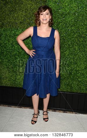 LOS ANGELES - JUN 2:  RACHEL BLOOM at the 4th Annual CBS Television Studios Summer Soiree at the Palihouse on June 2, 2016 in West Hollywood, CA