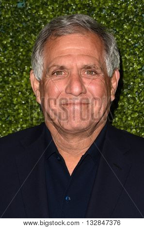 LOS ANGELES - JUN 2:  Les Moonves at the 4th Annual CBS Television Studios Summer Soiree at the Palihouse on June 2, 2016 in West Hollywood, CA