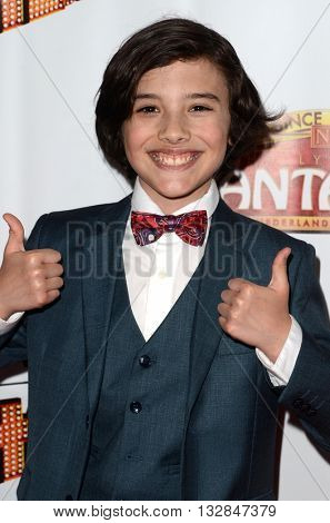 LOS ANGELES - MAY 31:  Hunter Payton at the 42nd Street Play Opening at the Pantages Theater on May 31, 2016 in Los Angeles, CA