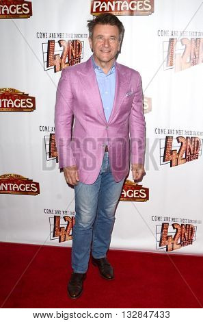 LOS ANGELES - MAY 31:  Robert Herjavic at the 42nd Street Play Opening at the Pantages Theater on May 31, 2016 in Los Angeles, CA