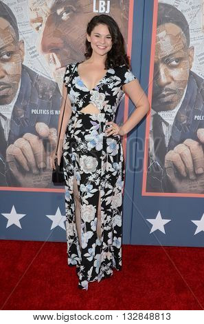 LOS ANGELES - MAY 10:  Samantha Bogach at the All The Way LA Premeire Screening at the Paramount Studios on May 10, 2016 in Los Angeles, CA