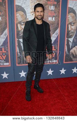LOS ANGELES - MAY 10:  Joe Naufahu at the All The Way LA Premeire Screening at the Paramount Studios on May 10, 2016 in Los Angeles, CA