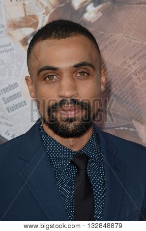 LOS ANGELES - MAY 10:  Eric Pumphrey at the All The Way LA Premeire Screening at the Paramount Studios on May 10, 2016 in Los Angeles, CA