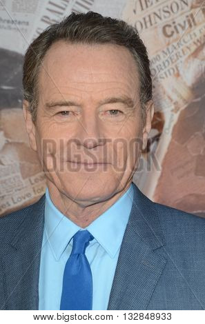 LOS ANGELES - MAY 10:  Bryan Cranston at the All The Way LA Premeire Screening at the Paramount Studios on May 10, 2016 in Los Angeles, CA