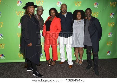 LAS VEGAS - JUN 1:  Queen Latifah, Shanice Willams, David Alan Grier, Amber Riley, Ne-Yo, Elijah Kelley at The Wiz Live! at the Directors Guild of America on June 1, 2016 in West Hollywood, CA