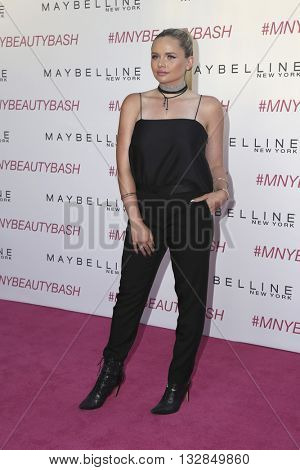 LOS ANGELES - JUN 3:  Alli Simpson at the Maybelline New York Beauty Bash at the The Line Hotel on June 3, 2016 in Los Angeles, CA