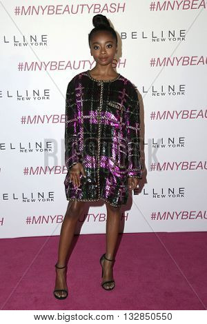 LOS ANGELES - JUN 3:  Skai Jackson at the Maybelline New York Beauty Bash at the The Line Hotel on June 3, 2016 in Los Angeles, CA