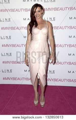 LOS ANGELES - JUN 3:  Jessica Sutta, J Sutta at the Maybelline New York Beauty Bash at the The Line Hotel on June 3, 2016 in Los Angeles, CA