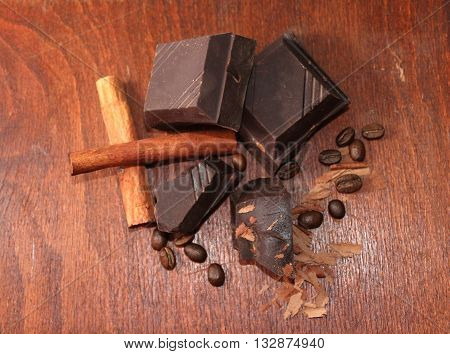 Chocolate is a typically sweet usually brown food preparation of Theobroma cacao seeds roasted and ground often flavored as with vanilla. It is made in the form of a liquid paste or in a block or used as a flavoring ingredient in other foods.