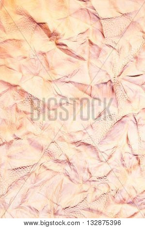 Leather texture made from cow skin for background
