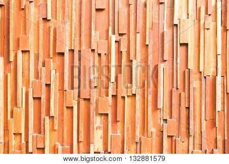 brown wood plank wall abstract for background
